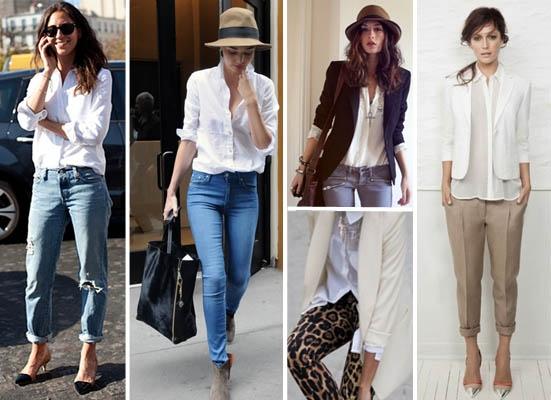 O que Vestir com Camisa Branca? Feminina