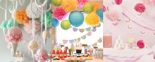 Como Organizar uma Festa de Anos Infantil - decoração
