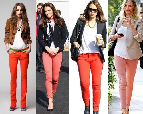 Como Usar Jeans Coloridos