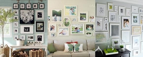 Decoração com Fotos - mistura