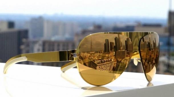 lentes espelhadas