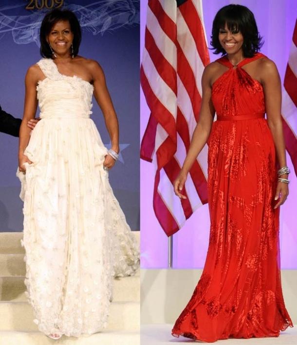 michele obama com vestidos jason wu
