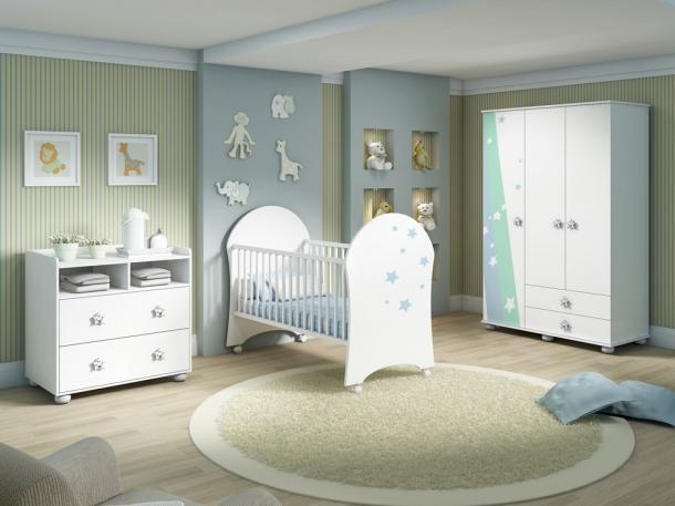 Mobili rio para quarto de beb feminina for Mobiliario para bebes