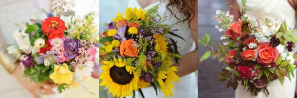 Ramos de Noiva com Flores Campestres (3)