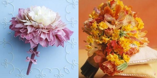 Ramos de Noiva com Orquídeas (2)