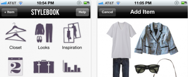 Stylebook - melhores apps moda iphone