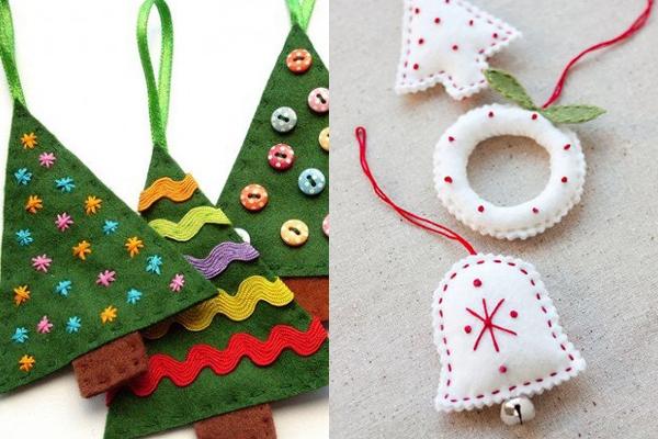 Sugestões de Enfeites de Natal de Feltro (5)