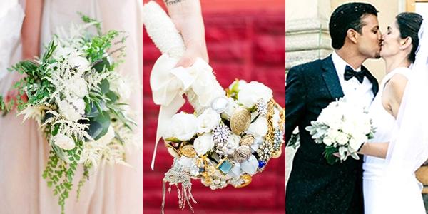 Sugestões Originais de Bouquets de Noiva 1