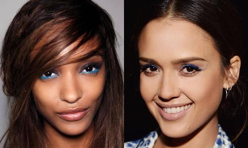Tendência de Maquilhagem de Olhos: Azul (2)