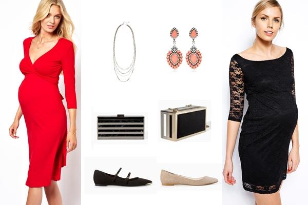 Vestidos de Festa para Grávidas: 5 Looks que Vai Adorar (4)
